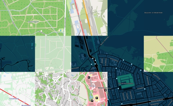OpenWhateverMap: focusing on Hilversum, NL and my current place of work