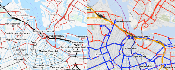 Transport Map and ÖPNV-Karte